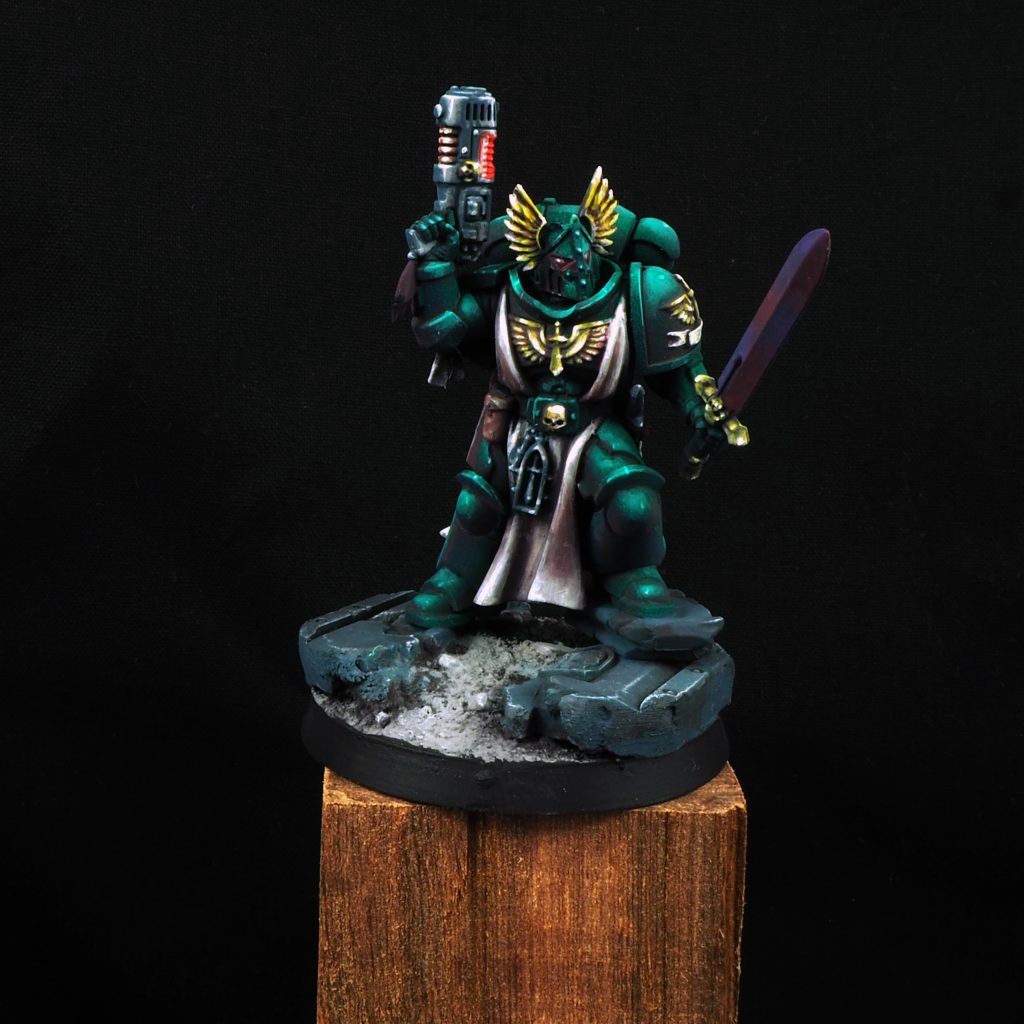 Dark Angel Lieutenant - Games Workshop